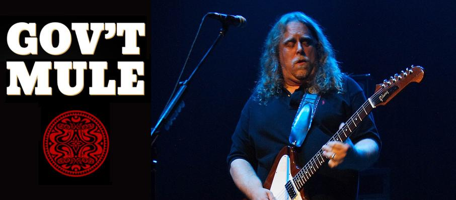 Gov't Mule at Bourbon Theatre