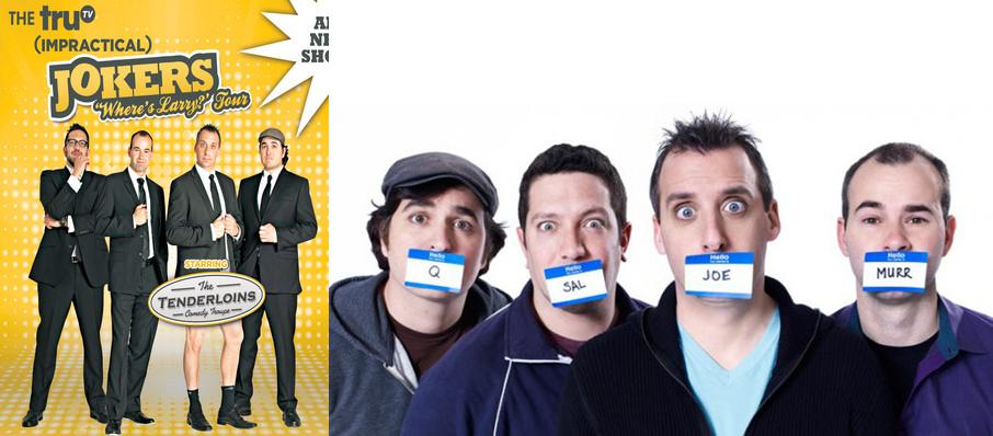 Cast Of Impractical Jokers & The Tenderloins at Pinewood Bowl Theater