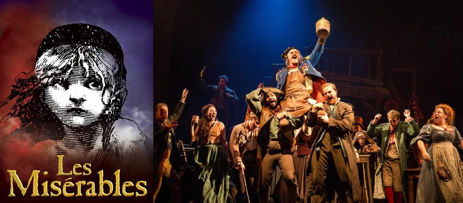 Les Miserables at Lied Center For Performing Arts