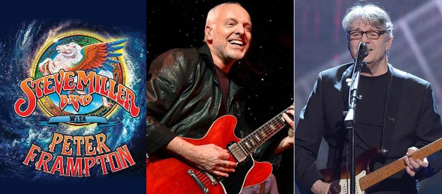 Steve Miller Band with Peter Frampton at Pinewood Bowl Theater
