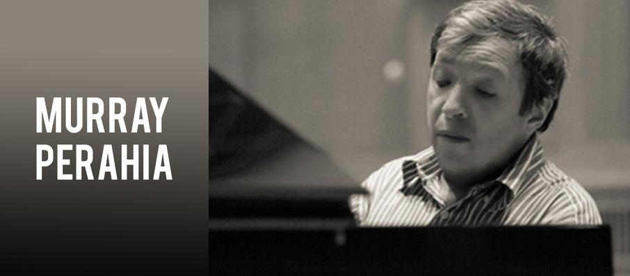 Murray Perahia at Lied Center For Performing Arts