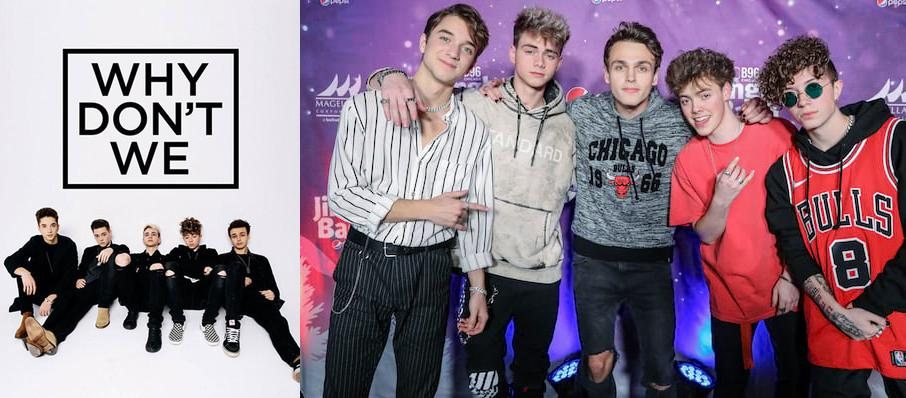 Why Don't We at Pinnacle Bank Arena