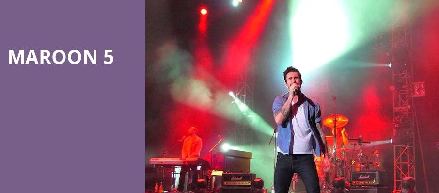 Maroon 5, Pinnacle Bank Arena, Lincoln