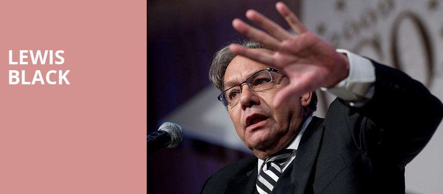 Lewis Black, Lied Center For Performing Arts, Lincoln