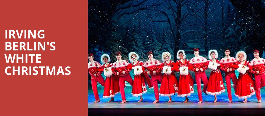 White Christmas In Theaters.Irving Berlin S White Christmas Lied Center For Performing