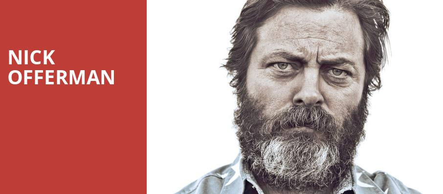 Nick Offerman, Lied Center For Performing Arts, Lincoln